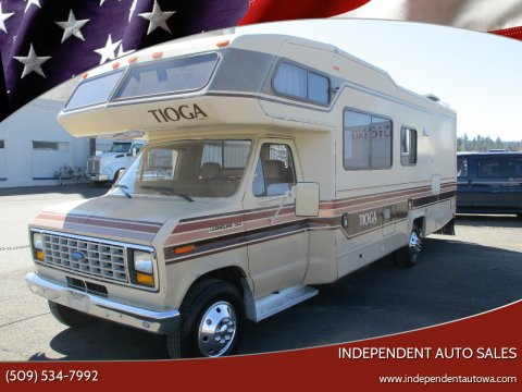 1987 Fleetwood TIOGA for sale at Independent Auto Sales #2 in Spokane WA