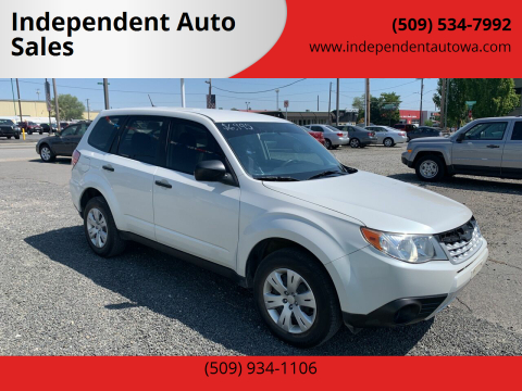 2013 Subaru Forester for sale at Independent Auto Sales #2 in Spokane WA