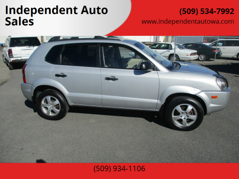2008 Hyundai Tucson for sale at Independent Auto Sales #2 in Spokane WA