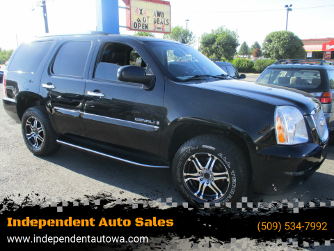 2008 GMC Yukon for sale at Independent Auto Sales in Spokane Valley WA