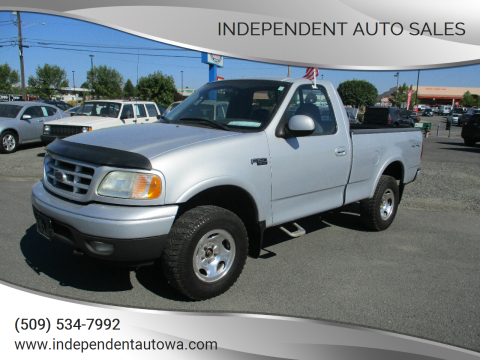 2003 Ford F-150 for sale at Independent Auto Sales in Spokane Valley WA
