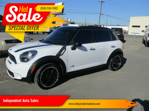 2012 MINI Cooper Countryman for sale at Independent Auto Sales in Spokane Valley WA