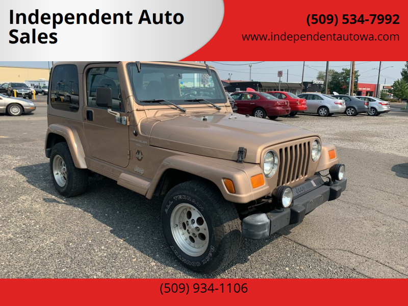 1999 Jeep Wrangler for sale at Independent Auto Sales #2 in Spokane WA