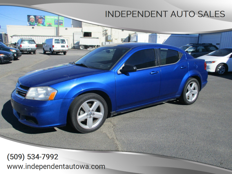 2013 Dodge Avenger for sale at Independent Auto Sales in Spokane Valley WA