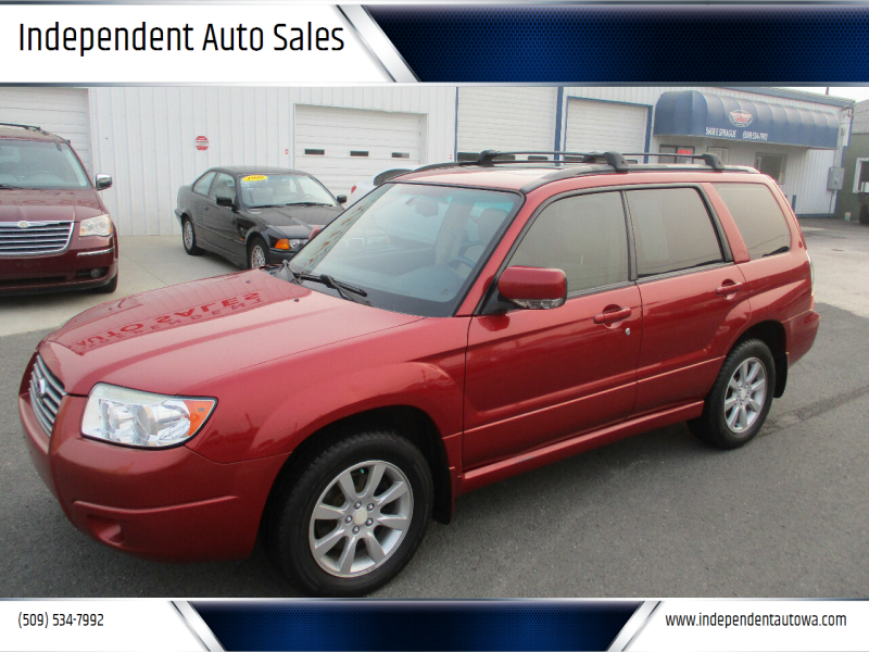 2007 Subaru Forester for sale at Independent Auto Sales #2 in Spokane WA
