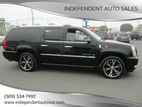 2011 Cadillac Escalade ESV for sale at Independent Auto Sales in Spokane Valley WA
