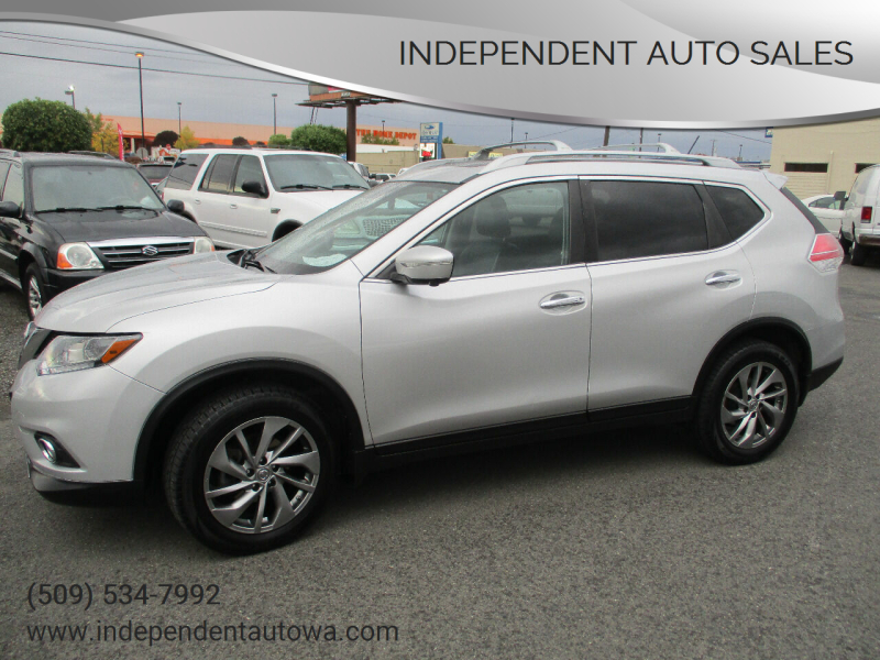 2015 Nissan Rogue for sale at Independent Auto Sales #2 in Spokane WA