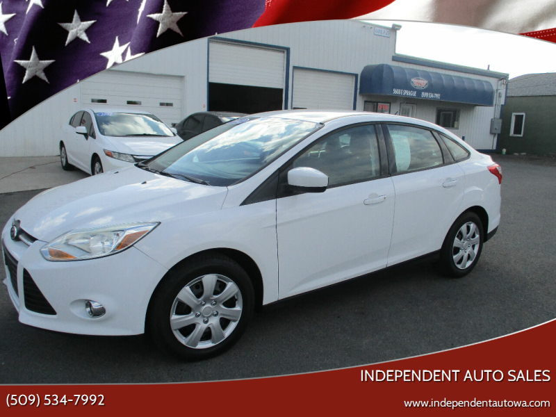 2012 Ford Focus for sale at Independent Auto Sales in Spokane Valley WA