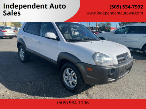 2006 Hyundai Tucson for sale at Independent Auto Sales #2 in Spokane WA