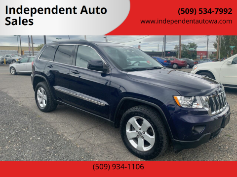 2012 Jeep Grand Cherokee for sale at Independent Auto Sales #2 in Spokane WA