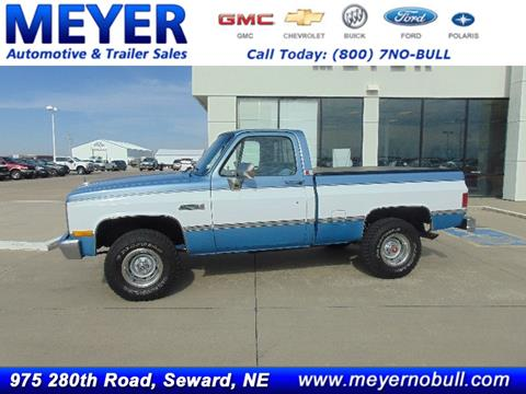 1986 GMC C/K 1500 Series for sale in Seward, NE