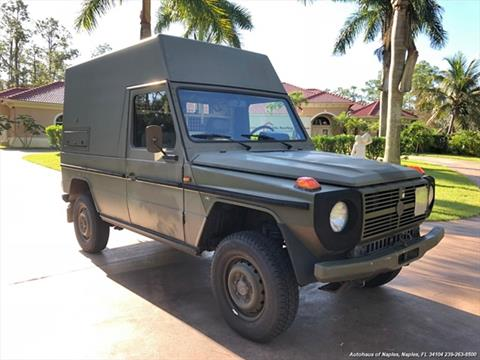1989 Mercedes-Benz G-Class for sale in Naples, FL