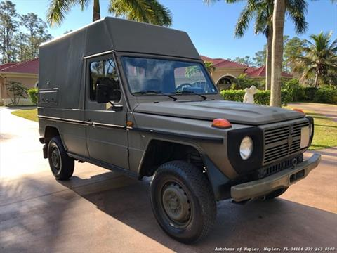 1989 Mercedes-Benz GL-Class for sale in Naples, FL