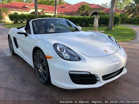2015 Porsche Boxster for sale in Naples, FL