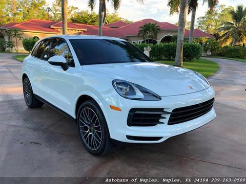 2019 Porsche Cayenne for sale in Naples, FL