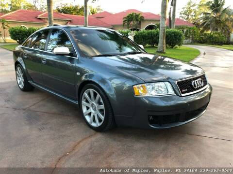 2003 Audi RS 6 for sale in Naples, FL
