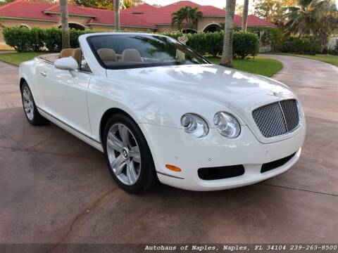 2007 Bentley Continental for sale in Naples, FL