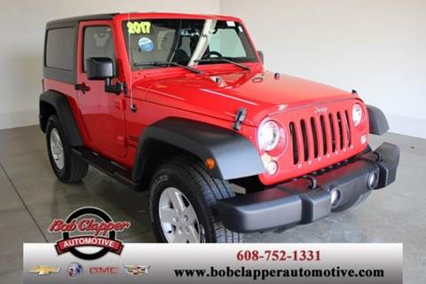 2017 Jeep Wrangler for sale in Janesville, WI