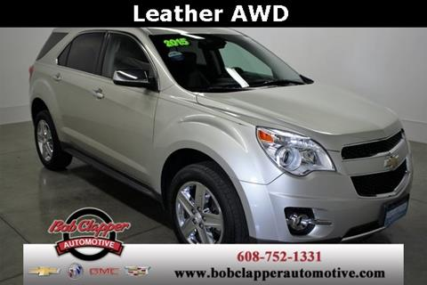 2015 Chevrolet Equinox for sale in Janesville, WI