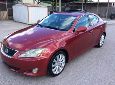 2006 Lexus Is 350 For Sale In Texas Carsforsale
