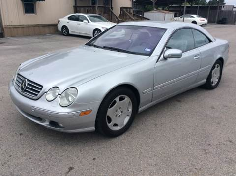 2001 Mercedes-Benz CL-Class for sale in Spring, TX