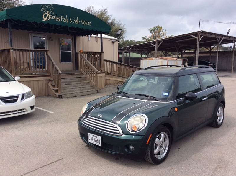 2010 Mini Cooper Clubman 3dr Wagon In Spring Tx Oasis Park Sell