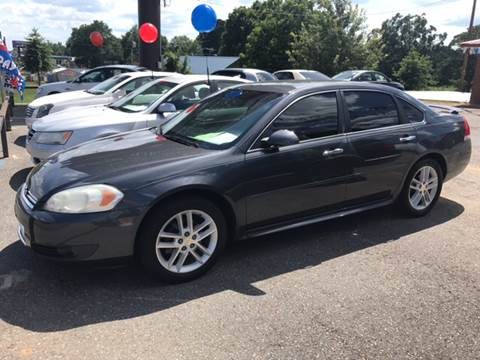 2006 Chevrolet Impala for sale at CORAN AUTO SALES in Greenbrier AR