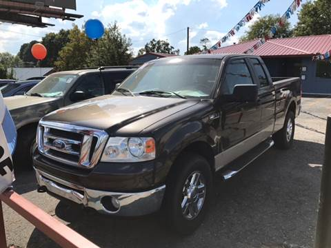 2008 Ford F-150 for sale at CORAN AUTO SALES in Greenbrier AR