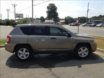 2007 Jeep Compass for sale at CORAN AUTO SALES in Greenbrier AR