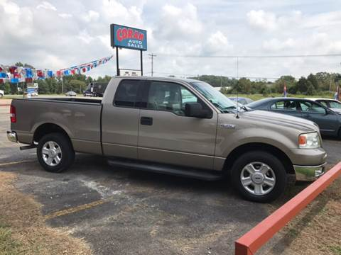 2004 Ford F-150 for sale at CORAN AUTO SALES in Greenbrier AR