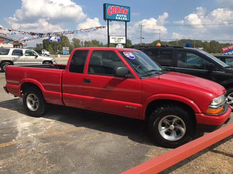2000 Chevrolet S-10 for sale at CORAN AUTO SALES in Greenbrier AR