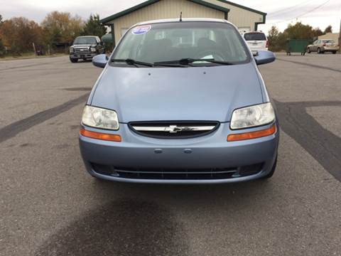 2006 Chevrolet Aveo for sale at CORAN AUTO SALES in Greenbrier AR