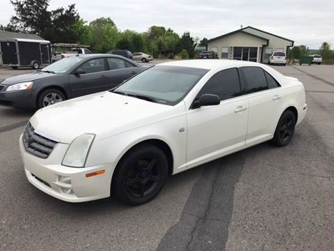 2005 Cadillac STS for sale at CORAN AUTO SALES in Greenbrier AR