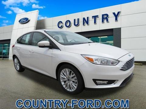 Ganley Ford Barberton >> New Ford Focus For Sale Massachusetts - Carsforsale.com