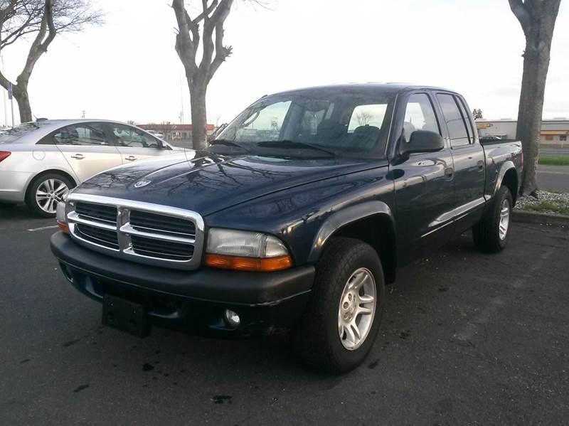 dodge dakota sport dr quad cab rwd sb  yuba city ca qa auto sales