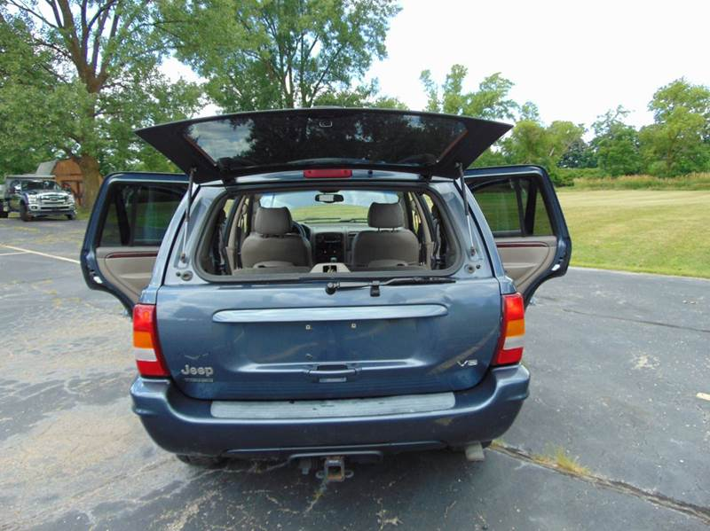 2002 Jeep Grand Cherokee Limited 4WD 4dr SUV In Union Grove