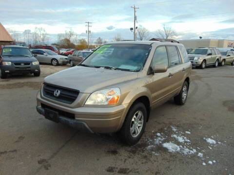 2003 Honda Pilot EX for sale at The Car & Truck Store in Union Grove WI