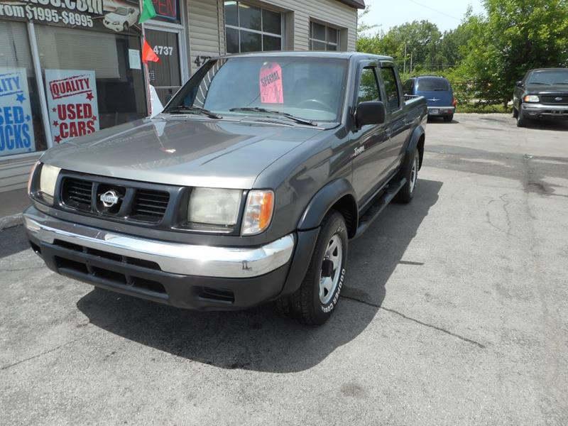 2000 Nissan Frontier Crew Cab Xe In Fort Wayne In Settle Auto