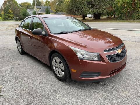 2012 Chevrolet Cruze for sale at Settle Auto Sales TAYLOR ST. in Fort Wayne IN