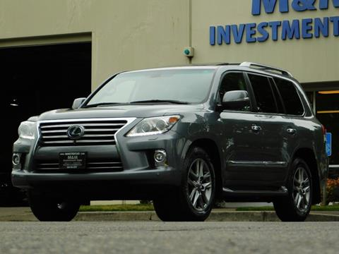 2014 Lexus LX 570 for sale in Portland, OR