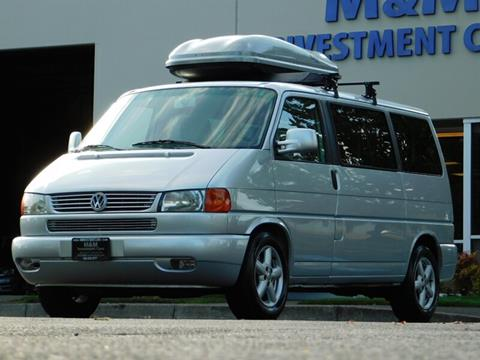 2003 Volkswagen EuroVan for sale in Portland, OR