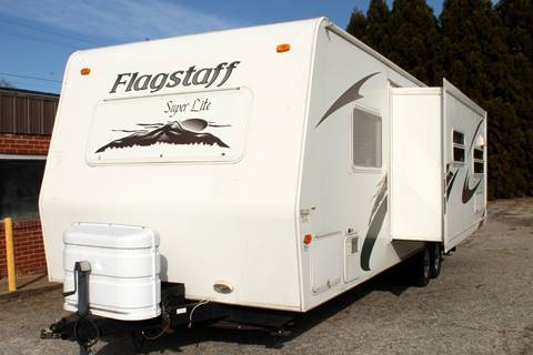 2008 Flagstaff Super Lite classic for sale at Greenlight Auto Remarketing in Spartanburg SC