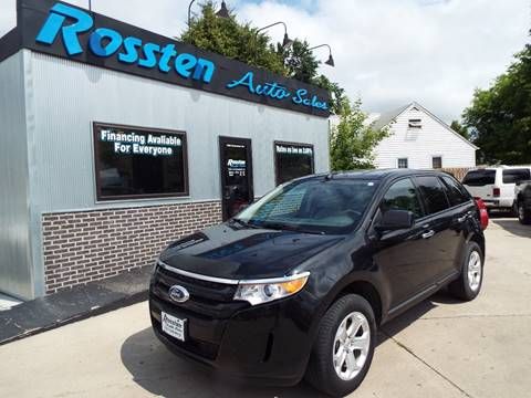 2011 Ford Edge for sale at ROSSTEN AUTO SALES in Grand Forks ND