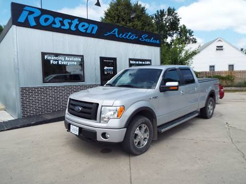 2009 Ford F-150 for sale at ROSSTEN AUTO SALES in Grand Forks ND