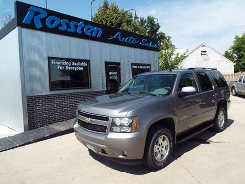 2008 Chevrolet Tahoe for sale at ROSSTEN AUTO SALES in Grand Forks ND