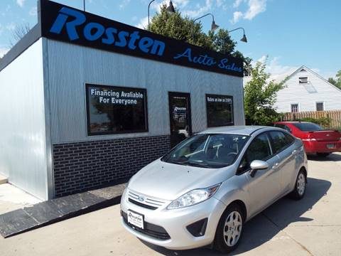 2012 Ford Fiesta for sale at ROSSTEN AUTO SALES in Grand Forks ND