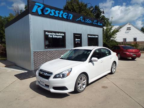 2014 Subaru Legacy for sale at ROSSTEN AUTO SALES in Grand Forks ND