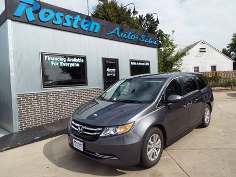 2016 Honda Odyssey for sale at ROSSTEN AUTO SALES in Grand Forks ND