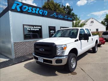 2015 Ford F-250 Super Duty for sale at ROSSTEN AUTO SALES in Grand Forks ND