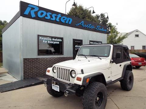1997 Jeep Wrangler for sale at ROSSTEN AUTO SALES in Grand Forks ND